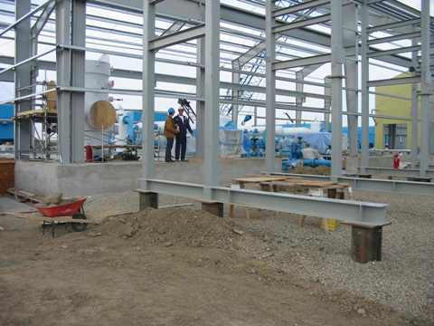 installation and field testing of compressor foundation design