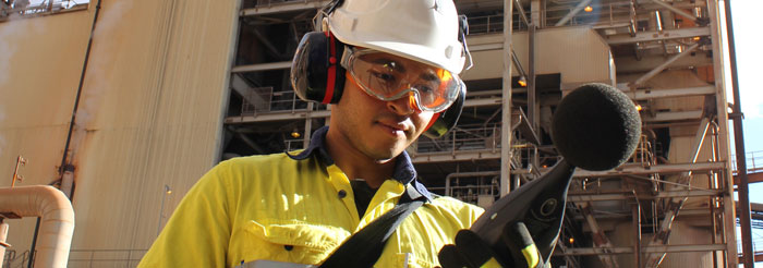 Noise survey in gas processing facility
