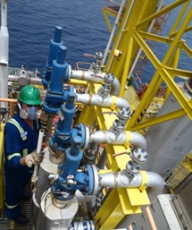 Vibration study on offshore platform