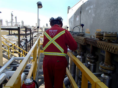 Visual assessment inspection of piping and attachments