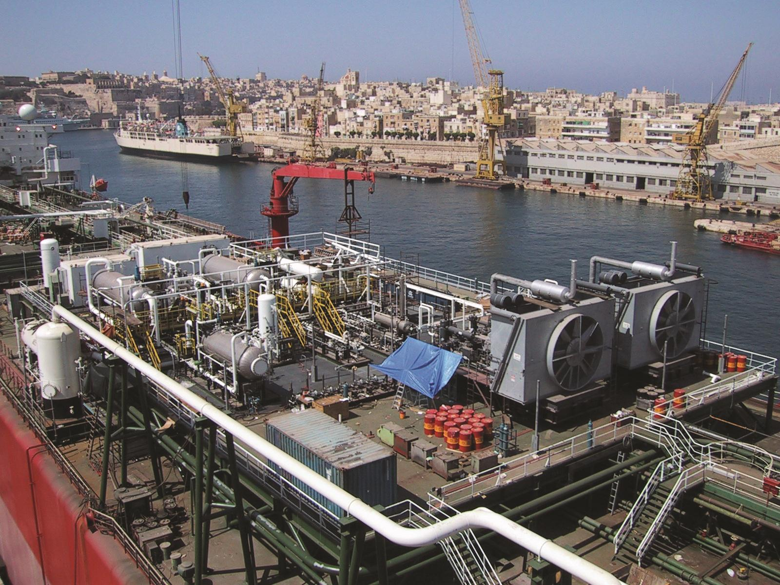 Reciprocating Compressors on FPSO