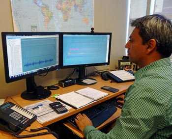 Remote Vibration Analysis and Condition Based Monitoring (CBM) BETA Analyst at Work