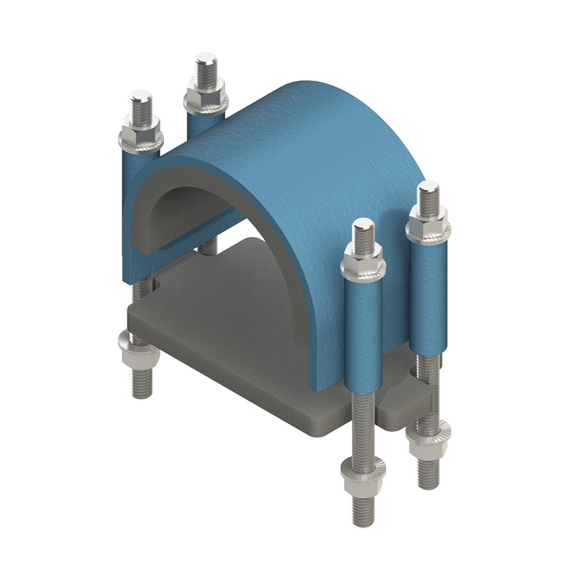 Anti-Vibration Clamps, incl  DamperX™ and ThermaGlide